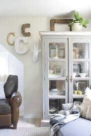 Family Room With Wallpaper And Chalkboard Wall Nesting With Grace - Wallpaper for family room