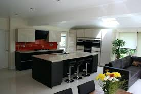 photo salon cuisine ouverte peinture salon cuisine ouverte cuisine ouverte sur salon en 55