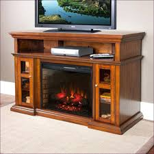 stand oak electric fireplace media console black wall mounted