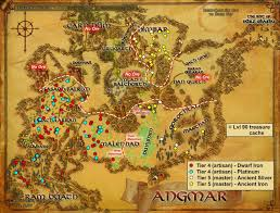 Barrows Map Wonderful Places In Lotro U0027s Middle Earth Ore In Lotro And Where