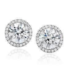 diamond stud forevermark center of my universe diamond stud earrings visit