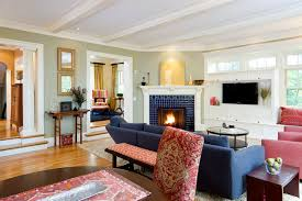 living rooms with corner fireplaces shingle style living room