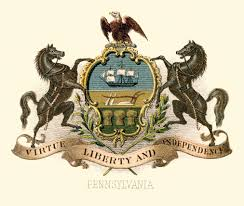 California Flag Horse Flag And Coat Of Arms Of Pennsylvania Wikipedia