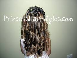 pretty hair styles with wand curling iron ringlets hairstyles for girls princess hairstyles
