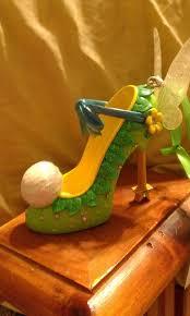 tinkerbell shoe ornament disney 3 tinkerbell