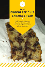 best 25 chocolate chip banana bread ideas on pinterest banana