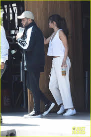 selena gomez u0026 the weeknd couple up for post birthday lunch photo