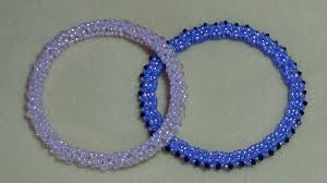 beaded bracelet tutorials youtube images Tutorial rolo beaded bangle video 41 jpg