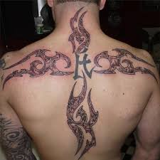 26 refreshing tribal cross tattoo designs