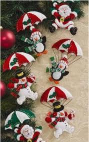 bucilla let it snowman 6 felt ornament kit 86186