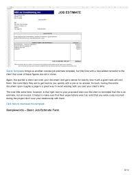 printable blank bid proposal forms printable quote
