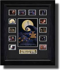 nightmare before christmas film cell