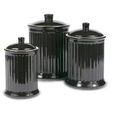 unique canister sets kitchen kitchen canisters jars wayfair tuscan rooster 3 piece canister set