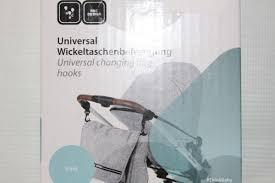 ersatzteile abc design 1x set abc wickeltaschenbefestigung mit karabinerhaken und
