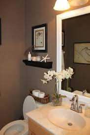 Bathrooms Painted Brown This Is What I Want To Do In My Downstairs Bath Love The