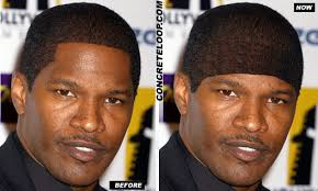 lol is up with jaime foxx u0027s hairline bodybuilding com forums