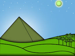 How To Draw The World Map by How To Draw The Egyptian Pyramids 5 Steps With Pictures