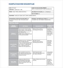 coaches report template sle coaching plan template 7 free documents in pdf doc