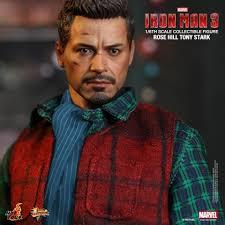 tony stark toys milk 1 6 iron man tony stark rose hill new in action