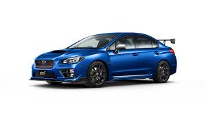 blue subaru 2017 2017 subaru wrx s4 ts special edition launched in japan