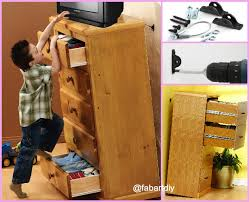 diy hack parenting hack protect child with diy furniture anchors