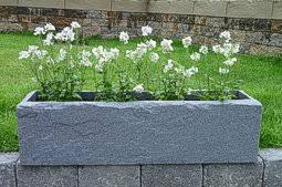 stone effect window box trough planters and window boxes