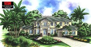 2 story 5 bedroom house plans palm bay mediterranean 5 bedroom house plan also features 5 1 2