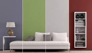 wandgestaltung zweifarbig ideen geräumiges streichen schlafzimmer ideen wand streichen