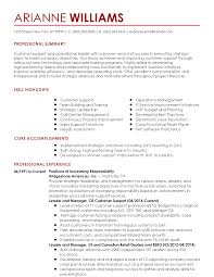 Resume Samples With Summary by Professional Customer Success Manager Templates To Showcase Your
