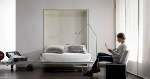 murphy bed for small space bedroom solutions home design