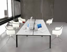 White Office Desks Furniture Contemporary Dark Home Office With White Office
