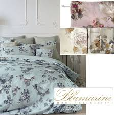 blumarine festival satin duvet cover set for double beds double