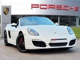 porsche baby boxster used 2014 64 reg lime gold porsche boxster 3 4 s 2dr for sale on