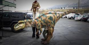 party rentals utah rent a dinosaur in utah