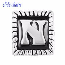 online buy wholesale pandora charms letter n from china pandora