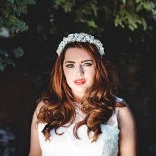 flower headdress wax flower headdresses knot bloom the boutique