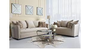 sofia vergara mandalay charcoal sofa 1 938 00 mandalay stone beige 7 pc living room classic