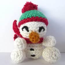 amigurumi crochet snowman pattern supergurumi