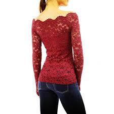 crochet blouses shop fashion shoulder white lace crochet blouses