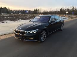 750l bmw bmw 750 g12 black 2016 rent taxi in minsk