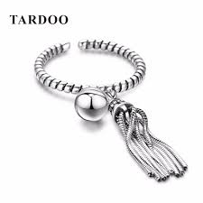 new year jewelry tardoo real 925 sterling silver rings for women statement cuff