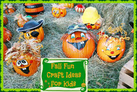 simple fall fun crafts for kids