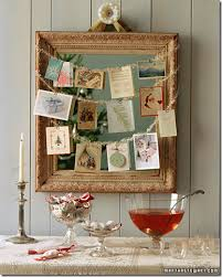 beautiful and simple ideas for displaying cards