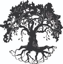 best oak tree silhouette 17919 clipartion com memorial stones