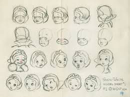 art snow white dwarfs concept art