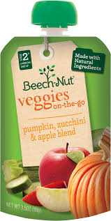 pumpkin zucchini and apple veggies on the go pouch u2015baby food pouches