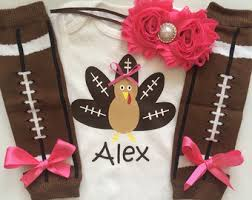 infant thanksgiving personalized baby turkey