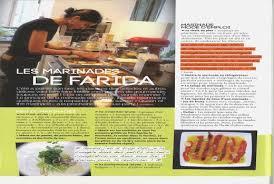 gazelle cuisine gazelle cuisine gazelle magazine les marinades de farida â