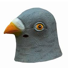gas mask for halloween costume aliexpress com buy factory price new pigeon mask latex giant