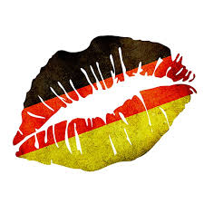 Germman Flag German Flag Lips